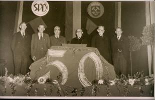 1953 -- 50 Jahre SPD Peißenberg