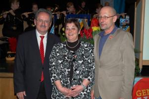 Neujahrsempfang 2013 mit Christian Ude und dem Zweiten Bürgermeister Hans Streicher